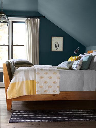 Sloped Ceiling Bedroom Design Ideas