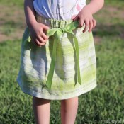 Quick and Easy Basic Skirt Tutorial