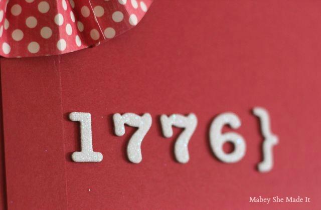 USA Fourth of July Decor   Mabey She Made It   #fourthofjuly #USA #4thofjuly #homedecor