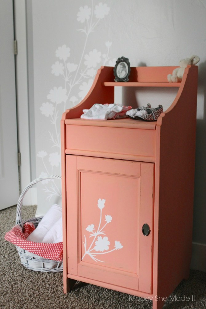Wallternatives Nursery Decor   Mabey She Made It   #vinyl #wallternatives #nursery