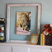 Fall Mantel 2 Ways