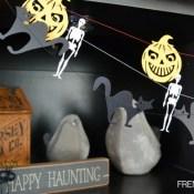 Spooky Halloween Garland