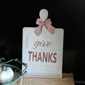 Give Thanks Board