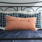 Pom Pom Pillow Sham Tutorial