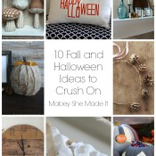 10 Fall and Halloween Ideas to Crush On