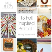 13 Fall Inspired Projects