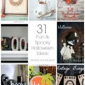 31 Fun and Spooky Halloween Ideas