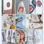 18 DIY Kitchen Towels