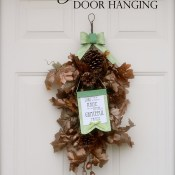 Grateful Praise Door Hanging