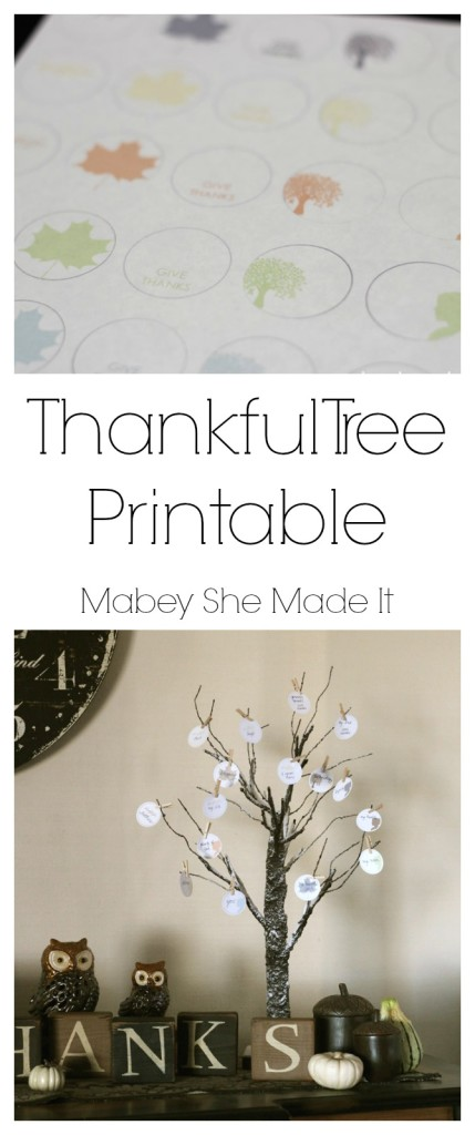 Print and punch out these Thankful Tree tags this year.