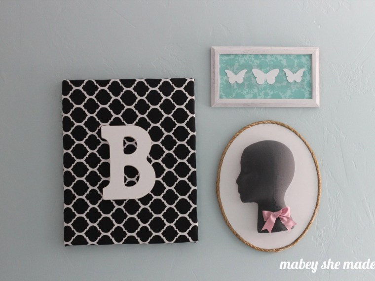 Foam Head Cameo | Mabey She Made It | #foamhead #floracraft #makeitfuncrafts #girl #silhouette