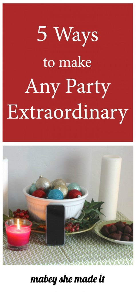 5 Ways to Make Any Party Memorable | Mabey She Made It | #partyplanning #party #FeelGlade #CG