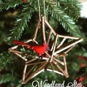Woodland Star Ornament