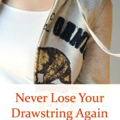 How to Fix your Drawstring So You Never Lose It Again
