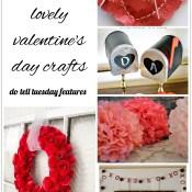 9 Lovely Valentine's Day Crafts