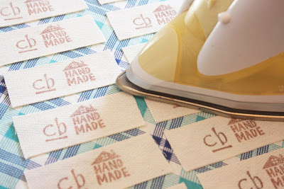 Stamped Twill Tape Clothes Tags | Mabey She Made It