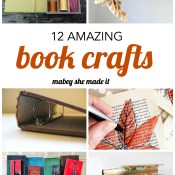 30+ Creative Uses for Old Books