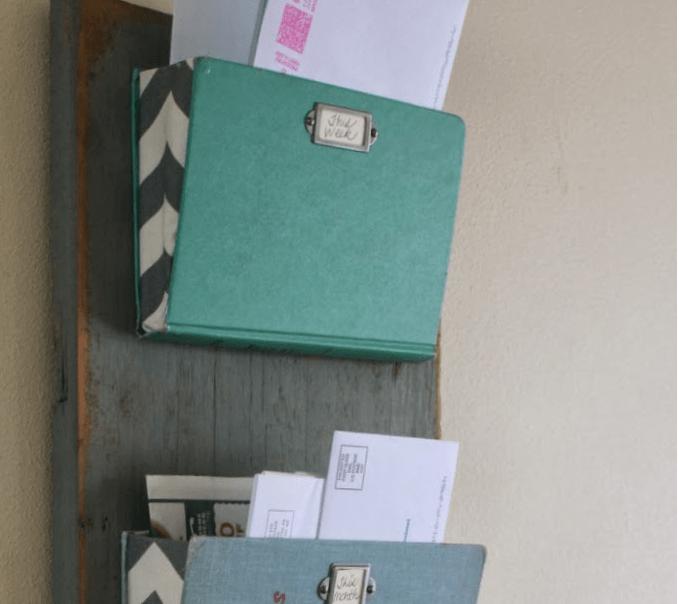 Old Book Mail Organizer