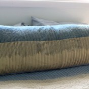 Pillow Shams to DIY Body Pillow Cover