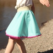 Super Easy Circle Skirt