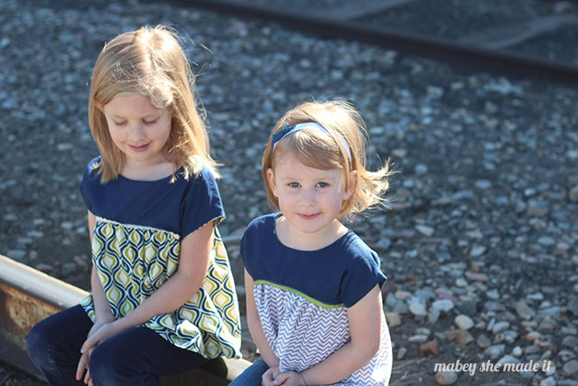 The izzy top is a free pattern you have to try out for girls.