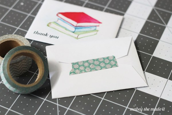 These watercolor printable gift card holders are perfect for teacher appreciation.