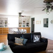 Mabey Manor: Living Room Reveal