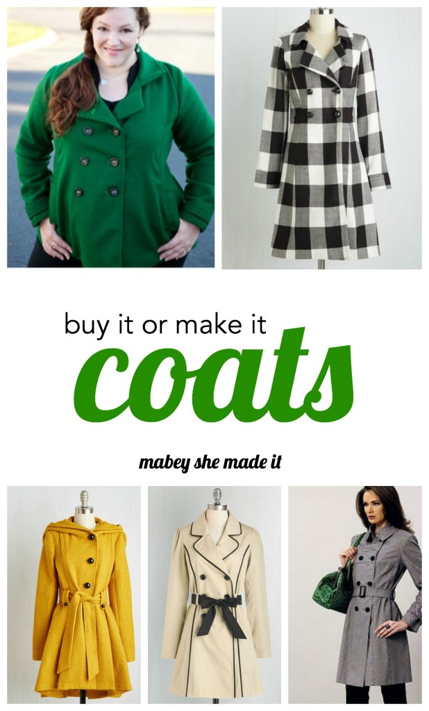 Buy it or Make It Coats: a guide for the best coats of 2015