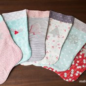 Make Your Own Christmas Stockings with HTV + Free Pattern