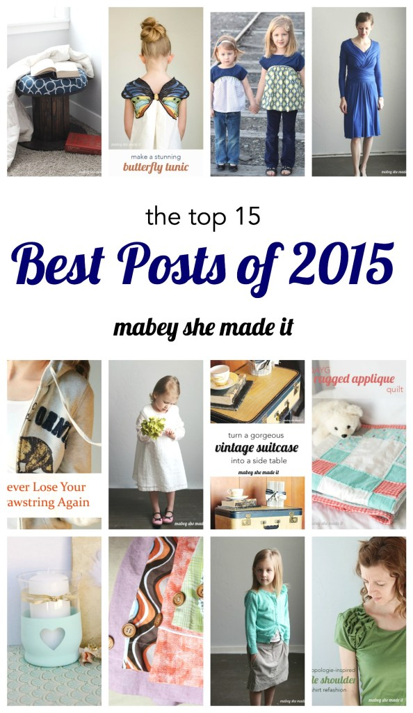The top 15 posts of 2015 from Mabey She Made It