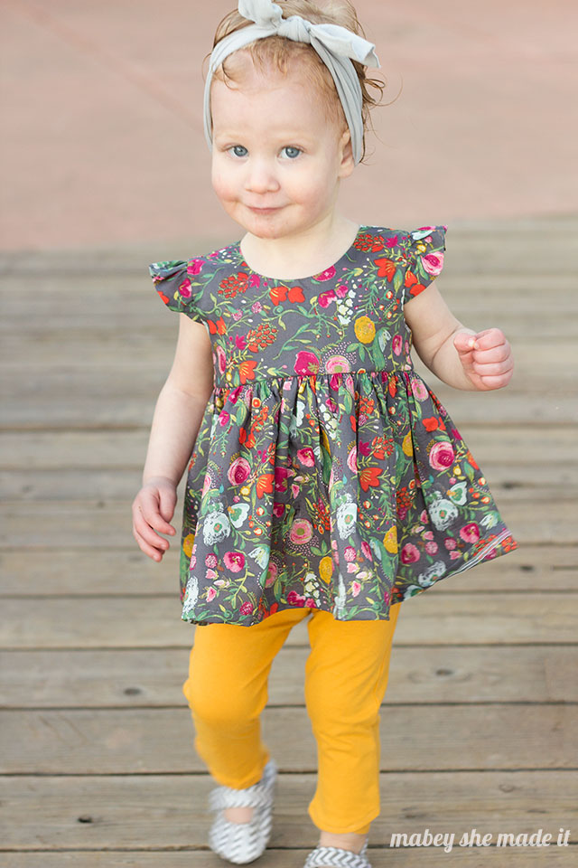FREE Flutterby Top Pattern Amp Tutorial Mabey She Made It