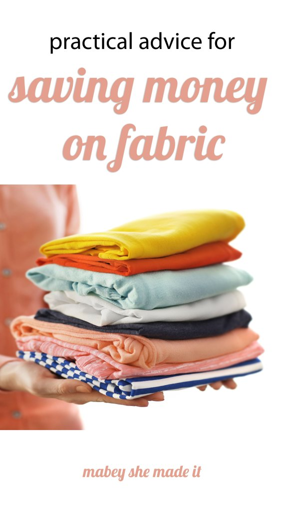 save money on fabric with these tips