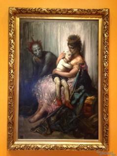 Les saltimbanques de Gustave Doré