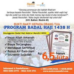 Jasa Badal Haji 1438