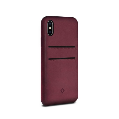 reputable site 200b0 b3282 RelaxedLeather for iPhone X Case with Pockets by Twelve South