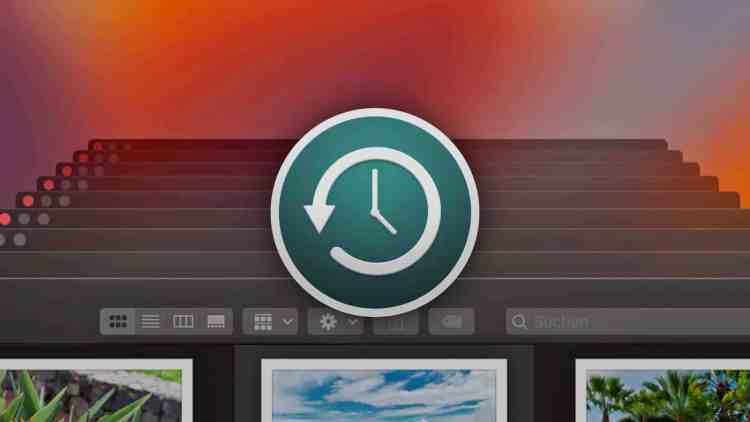 Time Machine – Beitragsbild Mac Datensicherung