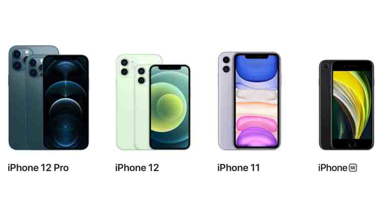 iPhone Lineup 2020 (hell)