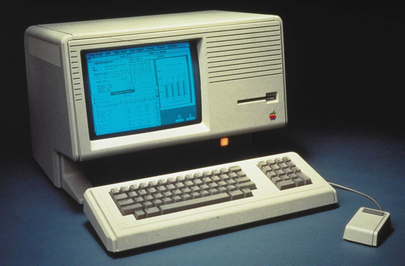Apple Lisa 1983 Mac History
