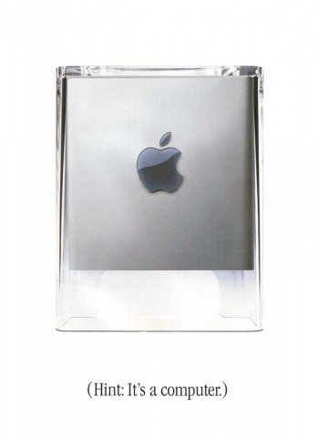 Power Mac  G4 Cube Broschure