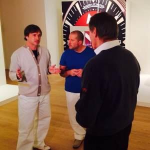 Marc Newson, Jony Ive, and Charlie Rose