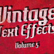 Creativemarket Vintage Text Effects Vol5 75186 icon