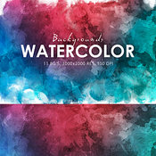 Creativemarket Watercolor Backgounds 124277 icon