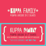 Kuppa Font Family 4 Fonts icon