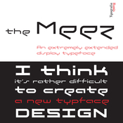 The Meez Font Family 3 Fonts icon