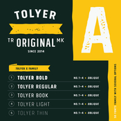Tolyer Font Family 50 Fonts icon