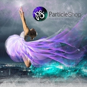 Corel ParticleShop logo icon
