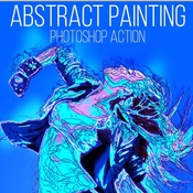 Creativemarket Abstract Painting Photoshop Action 246021 icon