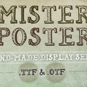 Creativemarket Mr Poster Font 6222 icon
