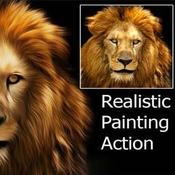 Creativemarket Realistic Painting Ps Action 256869 icon