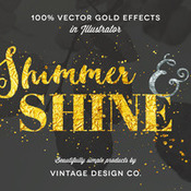 Creativemarket Shimmer and Shine 100percent Vector Gold 236592 icon